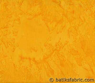 DarkYellow Quilt batik Fabric