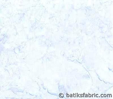 Light Sky Blue Water Color Modern Batik Fabric