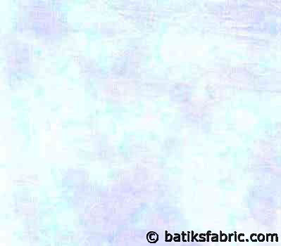 Buy Batik Fabric Online : Light Blue With Light Violet Color