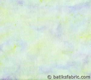 Light blue and light purple batik fabric