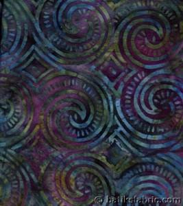 Escargot Cotton Batik Fabric