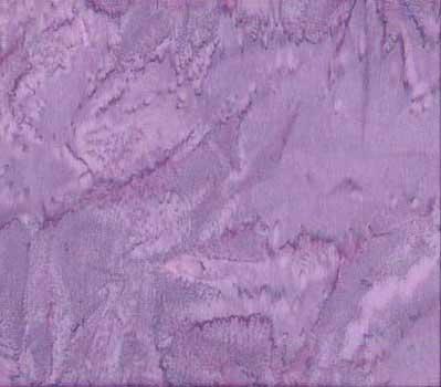 Purple Water Color of Quilt Batik Fabric