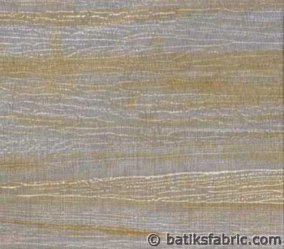 Brown Smooth Lines on Cadet Blue | Batik Quilting Fabric Australia