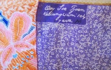 Oey Soe Tjoen original stamp