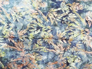 Batik Fabric On Sale - Bamboo Forest Batik Design