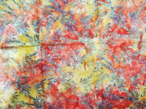 Hawaiian Batik Fabric-Bamboo Batik