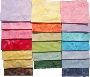 Fat quarter batik fabric