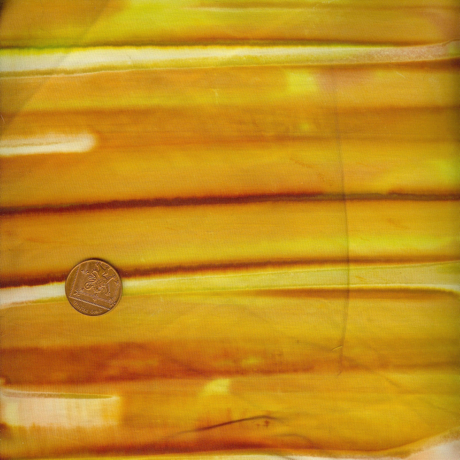 Amber Yellow Stripe Batik Fabric | AYS 0216