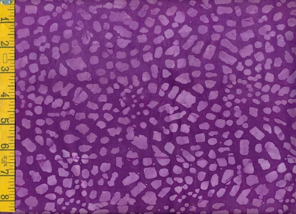 Lavender Bridge Stone on Purple batik fabric
