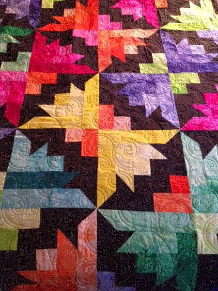 quilting batik fabric